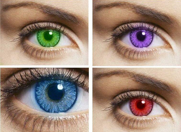 آیا لنزها به چشم آسیب میزنند؟
