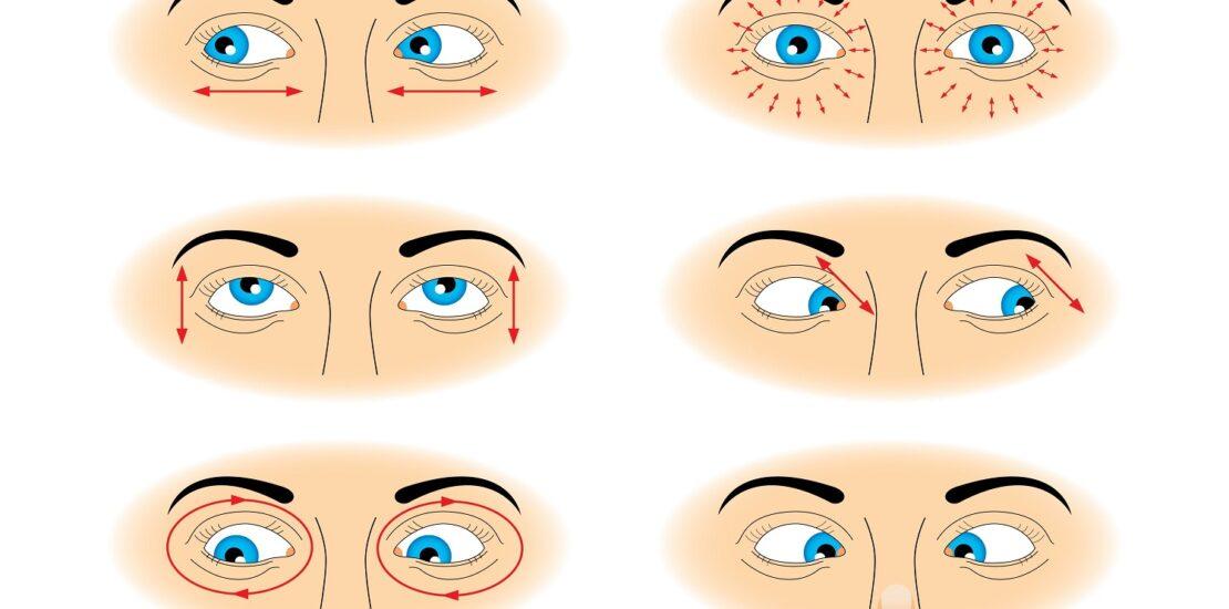 چگونه چشم های تیزبین داشته باشیم؟ این ۹ ورزش ساده را در خانه تمرین کنید