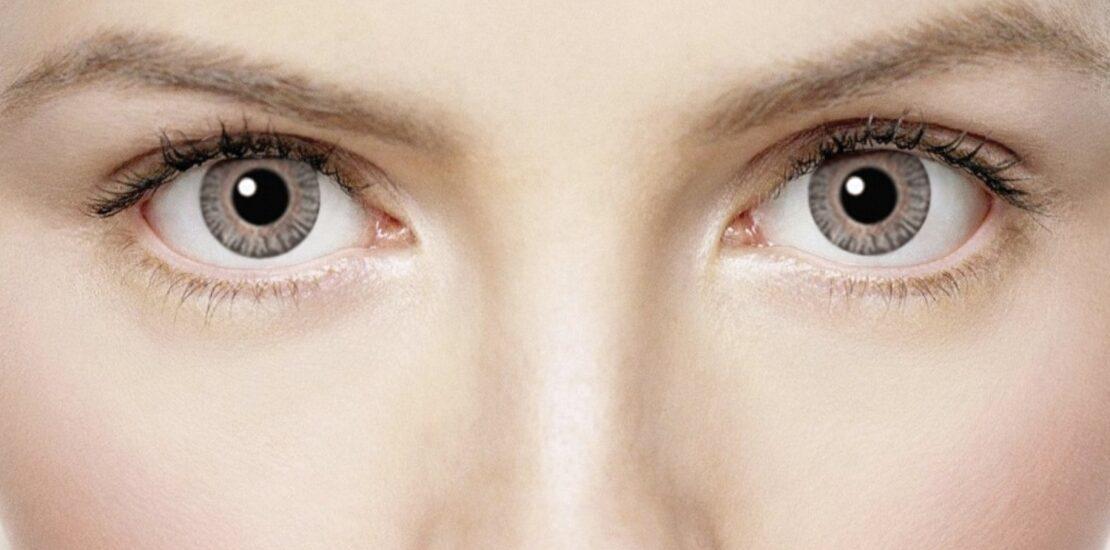 بهترین ترکیب سایههای چشم با لنز طوسی