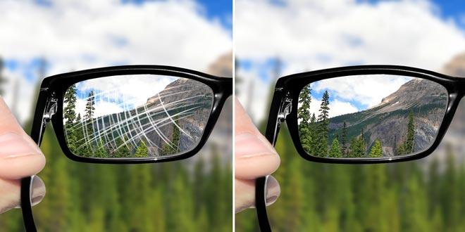 پوشش عدسی عینک