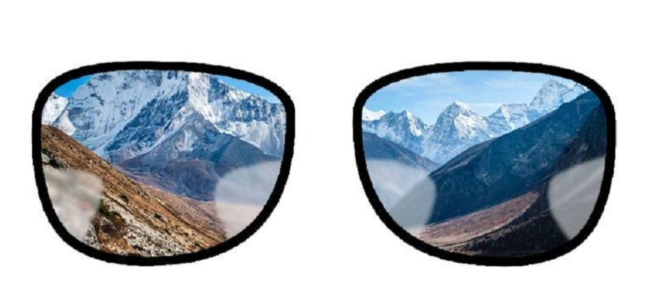 عدسی دو دید و عدسی تدریجی در عینک به چه معنی است؟