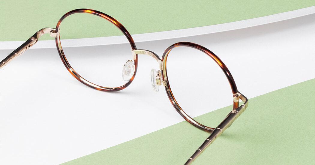 عینکهای گرد برای حس خوب قدیم