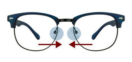 راهنمای تنظیم عینک