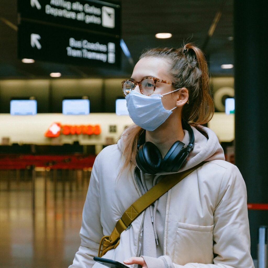 عینک طبی در سفر