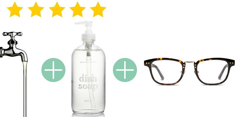 بهترین و بدترین روش برای پاک کردن شیشه عینک طبی و عینک آفتابی
