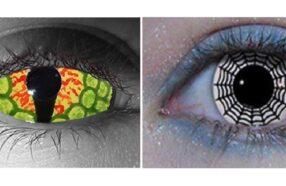 ۱۵ نمونه از عجیب ترین و ترسناک ترین لنزهای چشمی که تاکنون دیده اید