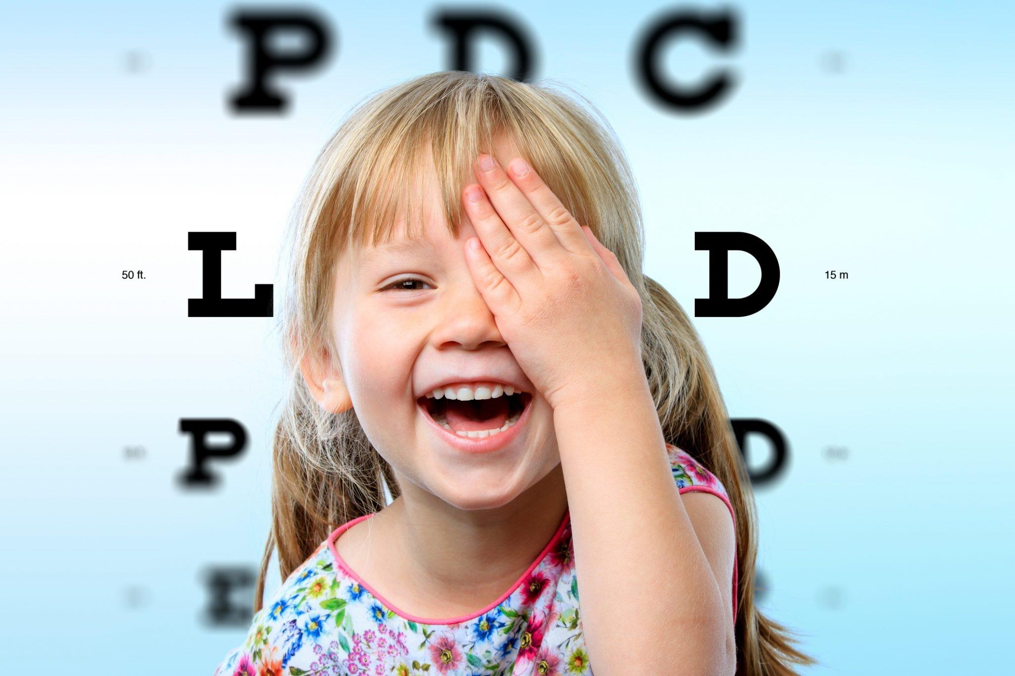 اهمیت بینایی سنجی کودکان
