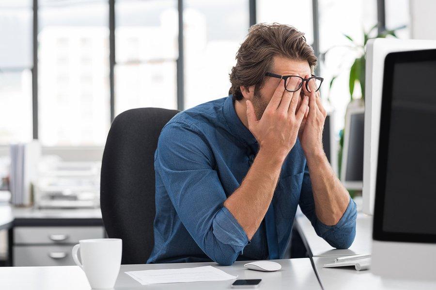 مراقبت از چشم در شرکت