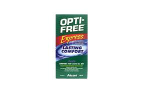 هر آنچه در مورد محلول لنز اپتی فری اکسپرس (Opti-Free Express) باید بدانید