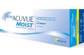 هر آنچه در مورد لنز طبی روزانه اکیو وی Moist باید بدانید