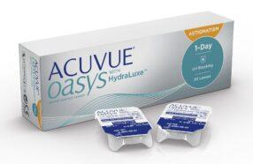 هر آنچه در مورد لنز طبی روزانه اکیو وی Oasys HydraLuxe باید بدانید