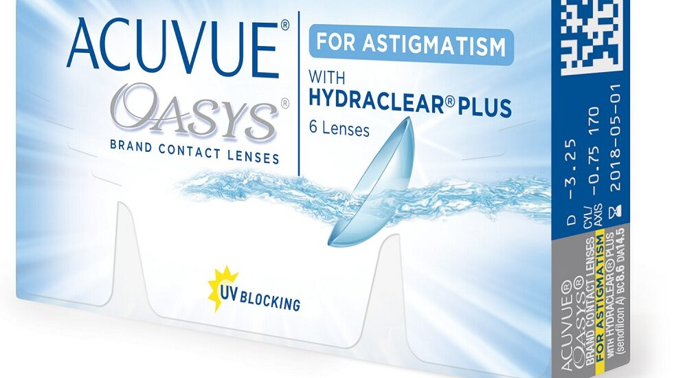 هر آنچه در مورد لنز طبی آستیگمات ماهانه اکیو وی Oasys باید بدانید
