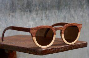 آموزش ساخت عینک آفتابی با چوب و مقوا