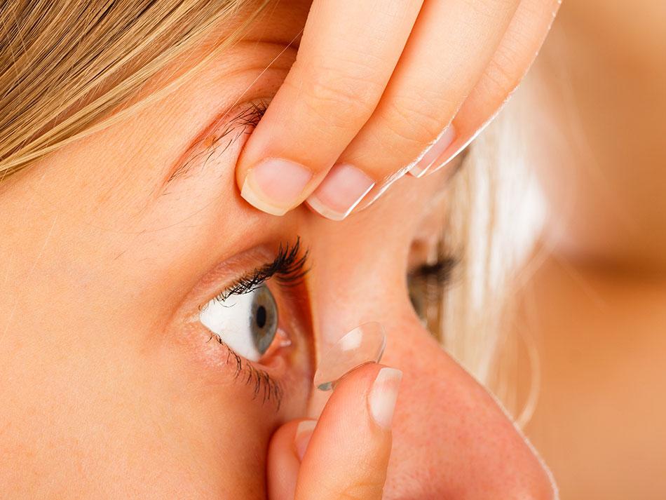 ترس از گذاشتن لنز