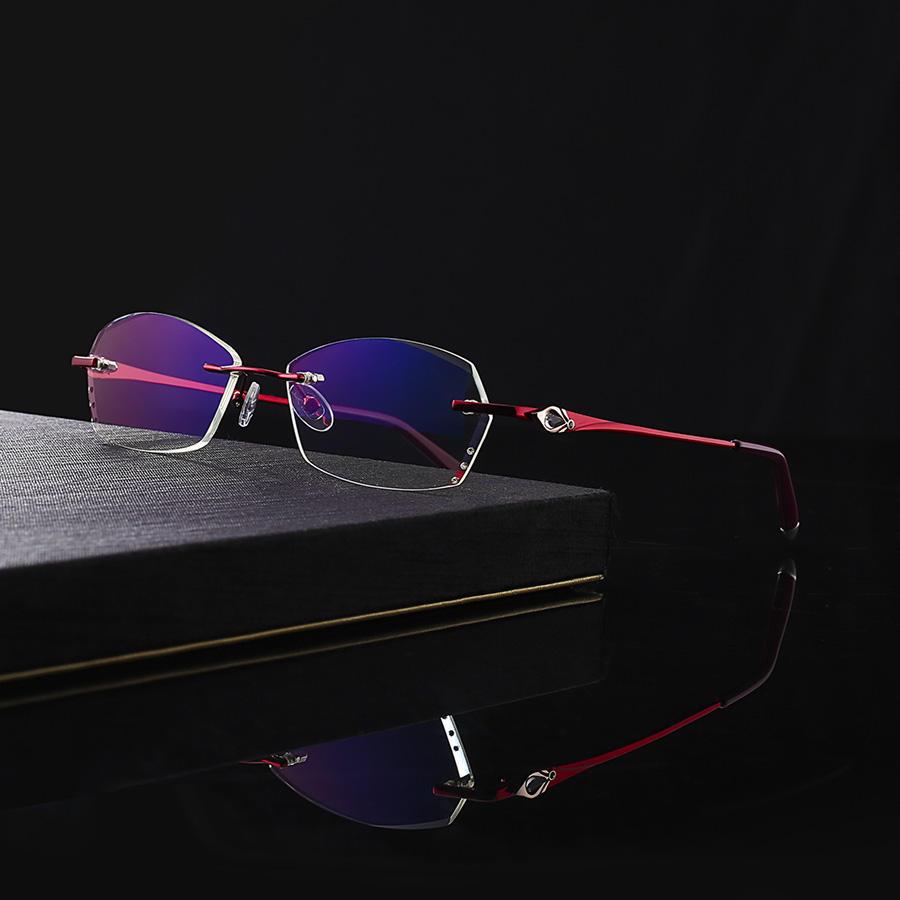 مدل عینک طبی بدون فریم