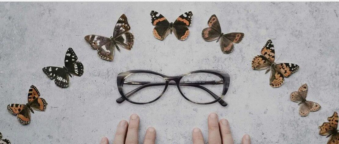 عینک مدل پروانه ای چه مدلی است و برای کدام فرم صورت مناسب است؟