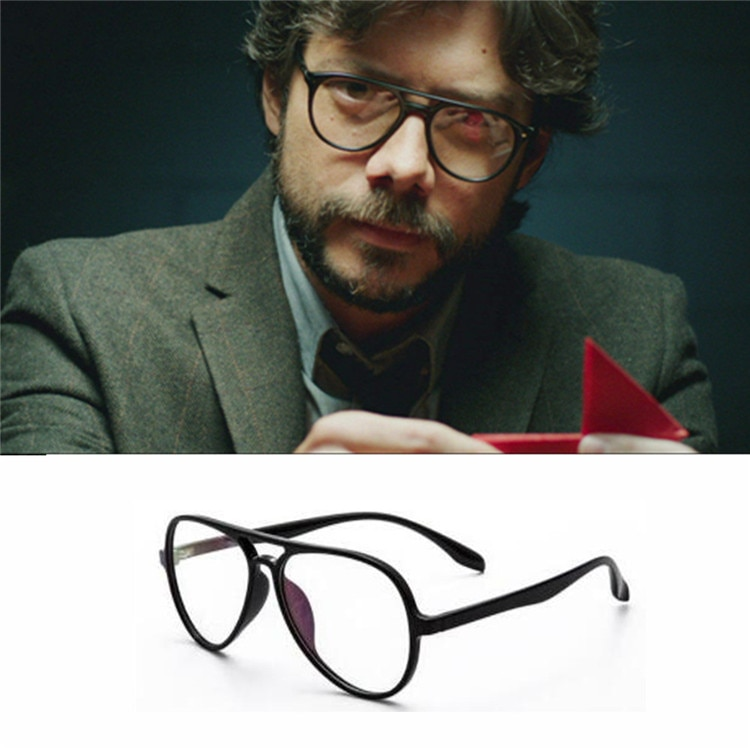 عینک پروفسور در خانه کاغذی