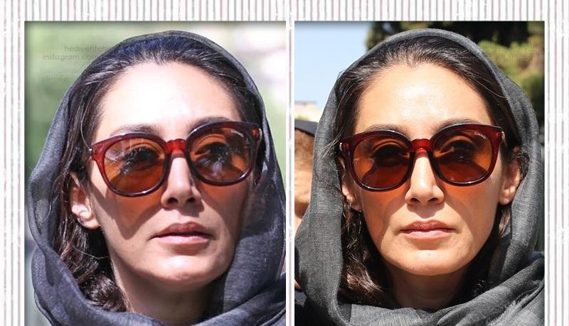 مدل عینک آفتابی هدیه تهرانی، بانوی متین سینمای ایران چیست؟