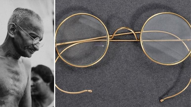 عینک مشهور ماهاتما گاندی با قیمت نجومی فروخته شد