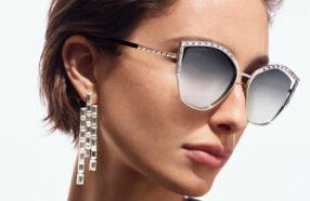 عینک آفتابی سواروفسکی با کریستالهای مشهور این برند