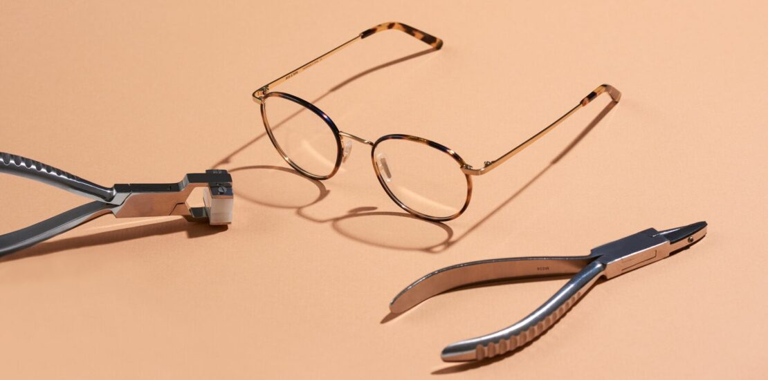 روش های جلوگیری از سر خوردن عینک از روی بینی