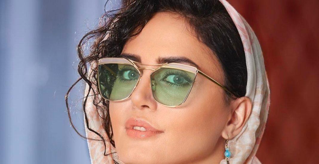 عینک آفتابی الناز شاکردوست ؛ هنرپیشه شبی که ماه کامل شد چه مدل عینک را بیشتر دوست دارد؟