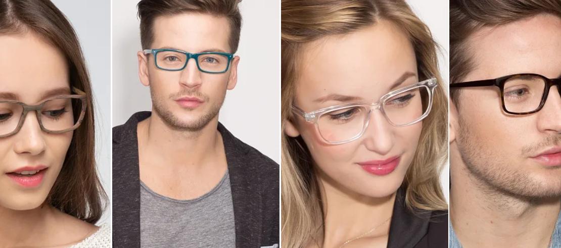 عینک طبی مستطیلی برای چه صورتی مناسب است؟