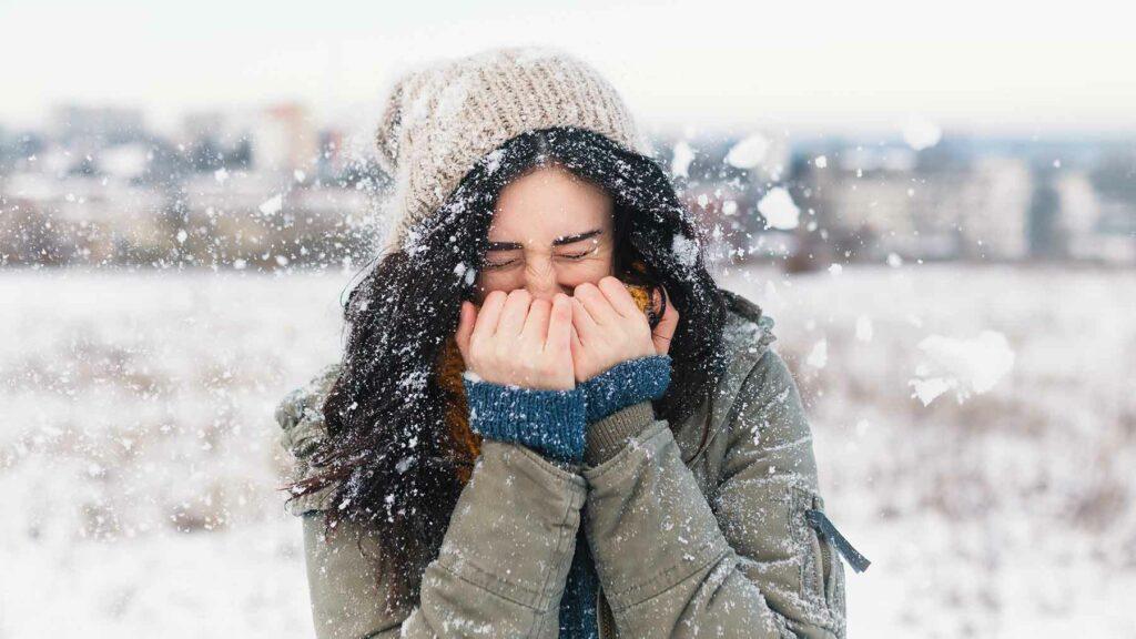 محافظت از چشم در فصل سرما