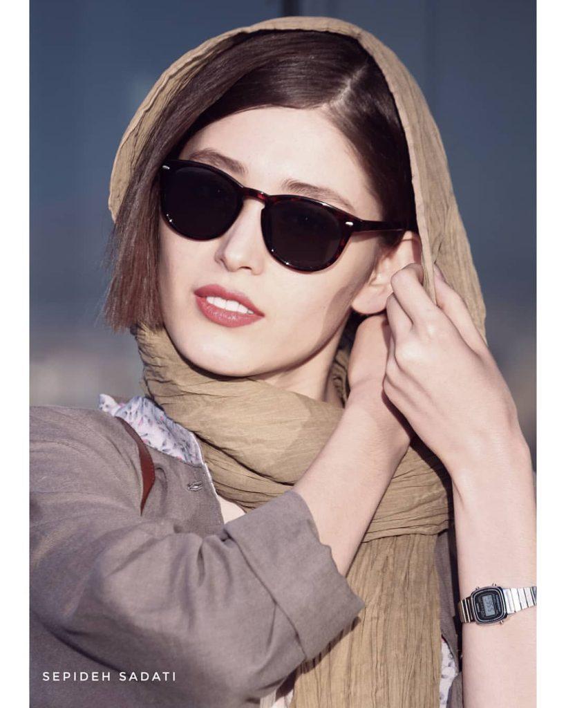 عینک فرشته حسینی