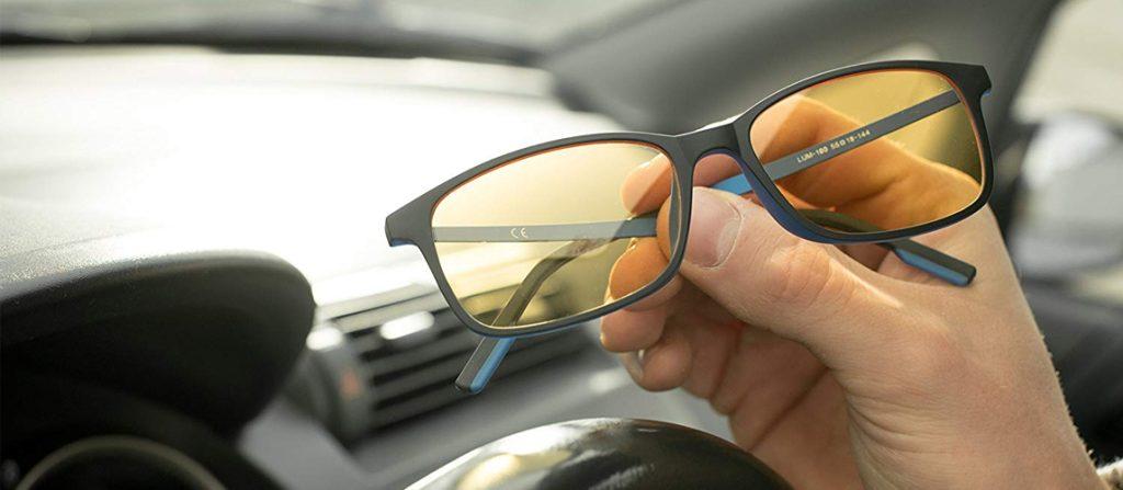 عینک آفتابی پلاریزه برای رانندگی در شب