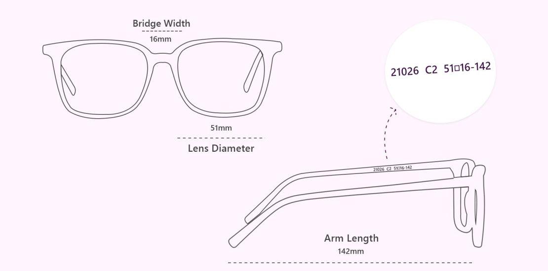 اعدادی که روی عینک طبی و عینک آفتابی حکشدهاند چه معنایی دارند؟