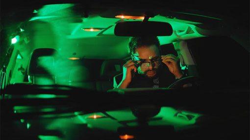 آیا عینک آفتابی پلاریزه برای رانندگی در شب مناسب است؟