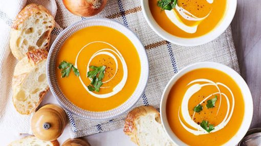 برای پیشگیری از شب کوری سوپ کدو حلوایی بخورید