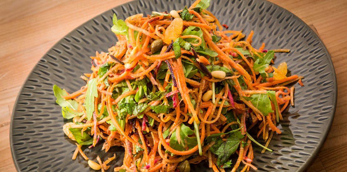 آموزش آشپزی برای تقویت بینایی: سالاد هویج پرتقالی