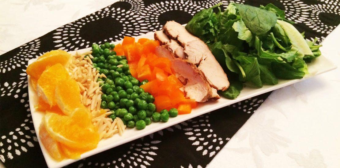 طرز تهیه سالاد مرغ و سبزیجات برای تقویت بینایی